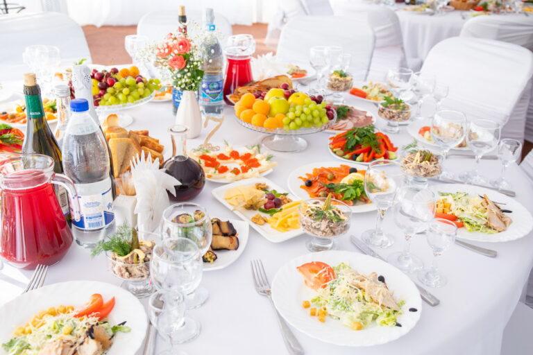 Свадебное меню в Гродно от Кафе верас